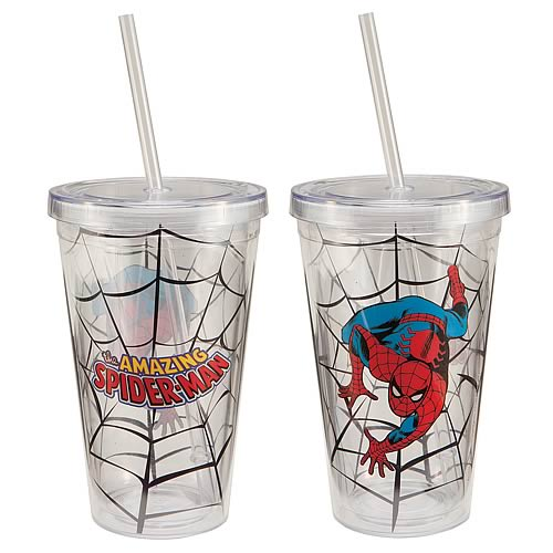 Spider-Man Acrylic Travel Cup