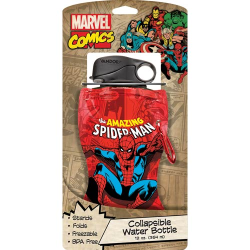 Spider-Man 12 oz. Collapsible Water Bottle