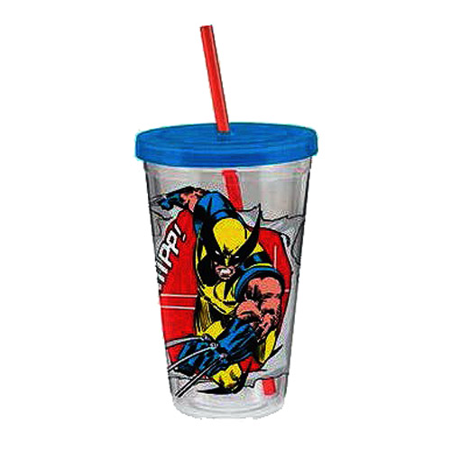 Wolverine Marvel 18 oz. Acrylic Travel Cup