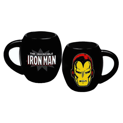 Iron Man Marvel 18 oz. Oval Ceramic Mug
