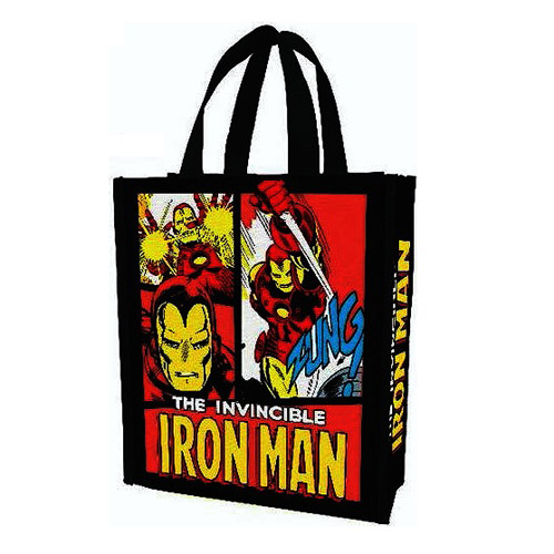 Iron Man Marvel Small Recycled Shopper Tote