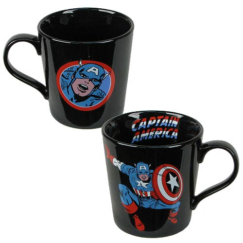 Captain America Marvel 12 oz. Ceramic Mug