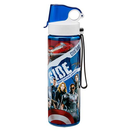 Captain America: Civil War 24 oz. Tritan Sport Water Bottle