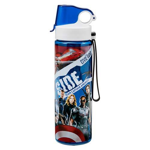Captain America: Civil War 24 oz. Tritan Sport Water Bottle