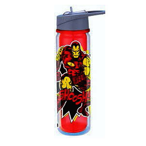 Invincible Iron Man Marvel 18 oz. Tritan Water Bottle