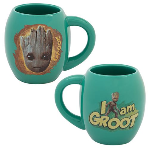 Guardians of the Galaxy Vol. 2 Groot 18 oz. Ceramic Oval Mug