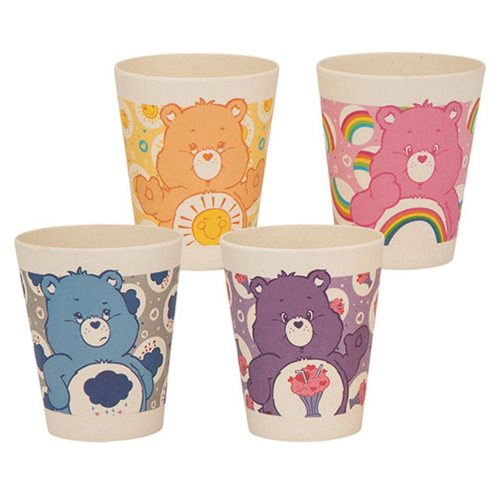 Care Bears 10 oz. Bamboo Cup 4-Pack Set