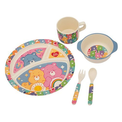 Care Bears Bamboo Mealtime Set