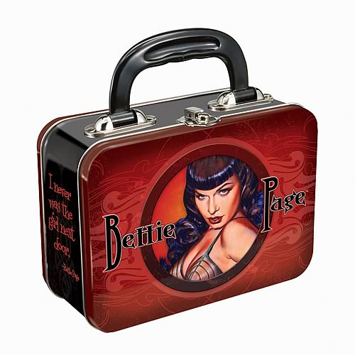 Bettie Page Small Lunch Box