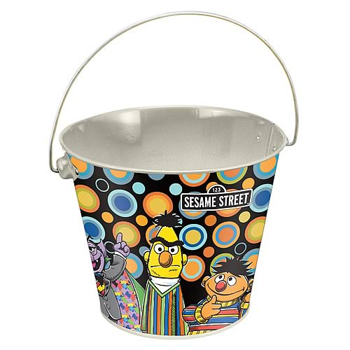 Sesame Street Tin Bucket