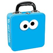 Sesame Street Cookie Monster Square Tin Tote