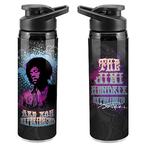 Jimi Hendrix Stainless Steel Water Bottle