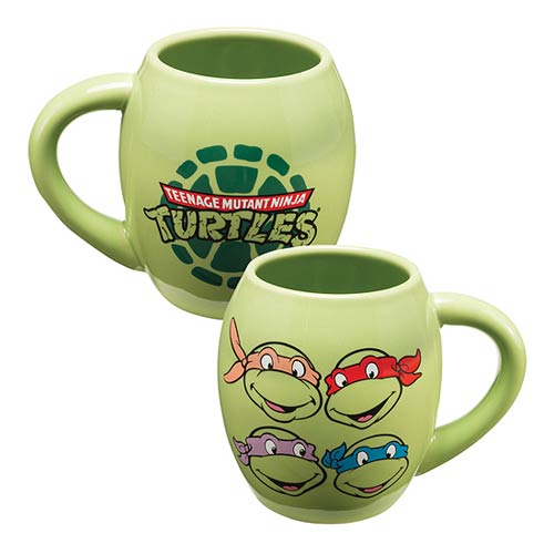 Teenage Mutant Ninja Turtles 18 oz. Oval Ceramic Mug