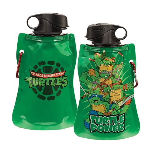 Teenage Mutant Ninja Turtles 12 oz. Collapsible Water Bottle