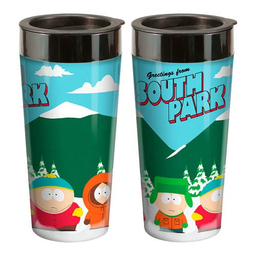 South Park 16 oz. Plastic Travel Mug