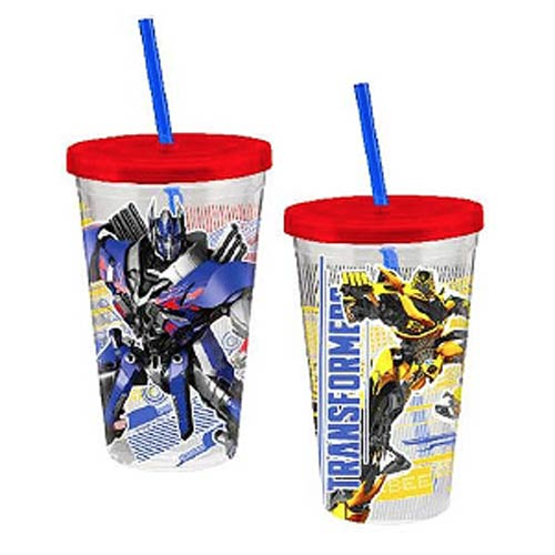 Transformers Movie Heroes 12 oz. Acrylic Travel Cup