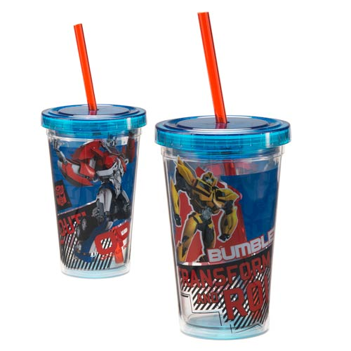 Transformers Autobots 12 oz. Acrylic Travel Cup