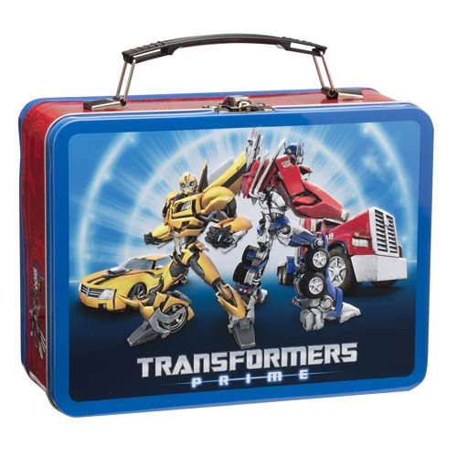 Transformers Prime Autobots Large Tin Tote