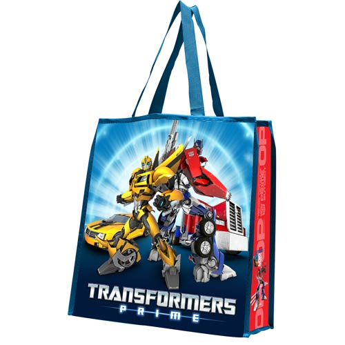 Transformers Prime Autobots Large Recycled Shopper Tote