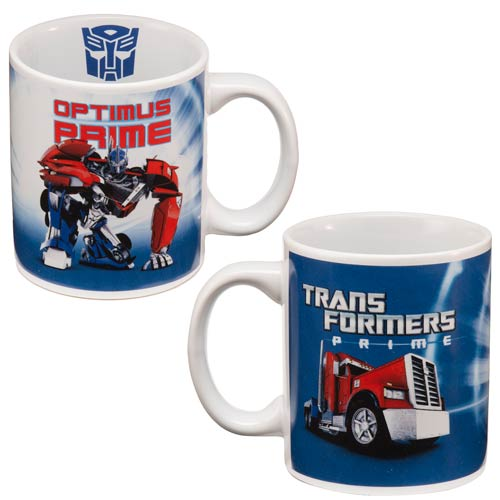 Transformers Prime Optimus Prime 12 Oz Ceramic Mug