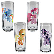 My Little Pony Friendship is Magic 10 oz. Glass 4-Pack