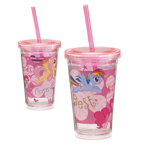 My Little Pony 12 oz. Acrylic Travel Cup