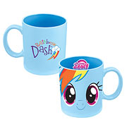 My Little Pony Rainbow Dash 12 oz. Ceramic Mug