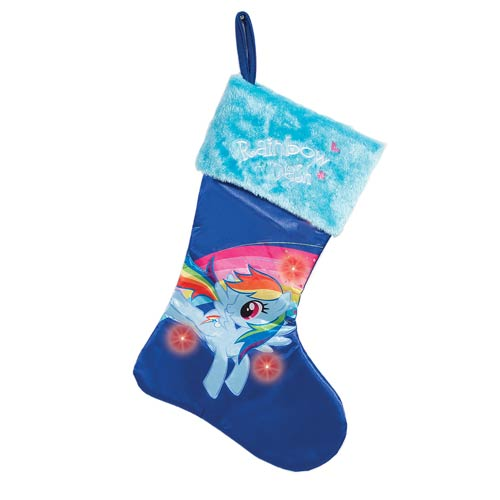 My Little Pony Rainbow Dash Large Light-Up Stocking