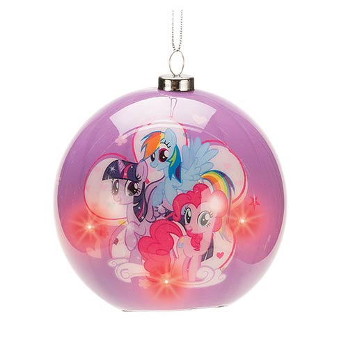 My Little Pony Friendship Light-Up Ball Ornament