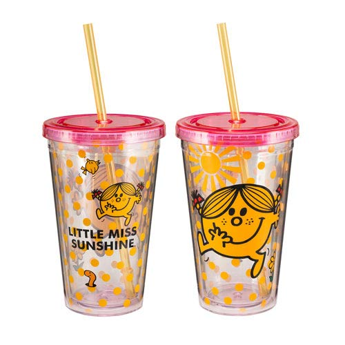 Mr. Men Little Miss Sunshine 18 oz. Acrylic Travel Cup