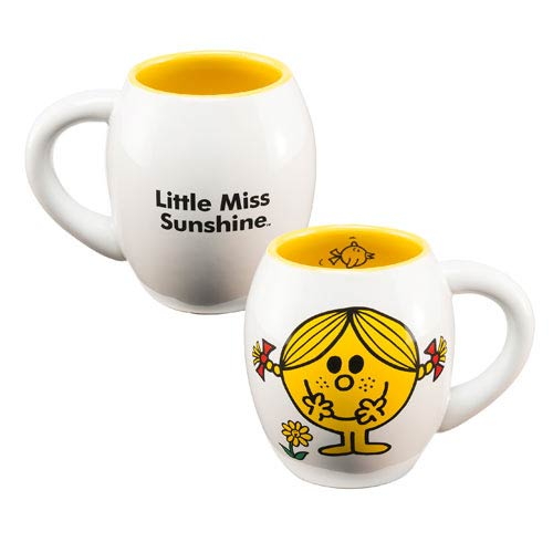 Mr. Men Little Miss Sunshine 18 oz. Oval Ceramic Mug