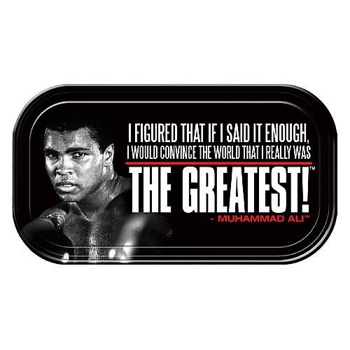Muhammad Ali The Greatest Mini Tin Sign