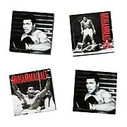 Muhammad Ali Tile Magnets 4-Pack
