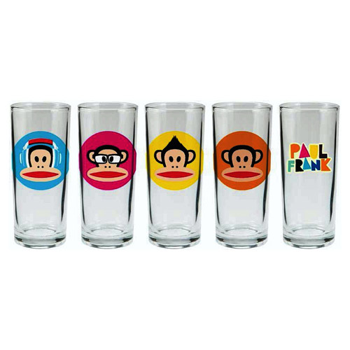 Paul Frank 10 oz. Glass 4-Pack