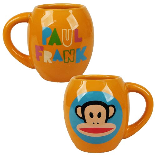 Paul Frank 18 oz. Oval Ceramic Mug