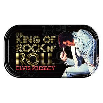 Elvis Presley The King Mini Tin Sign
