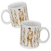 Elvis Presley Gold Suit Mug