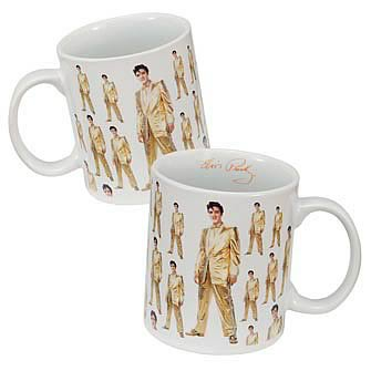 Elvis Presley Gold Suit Mug