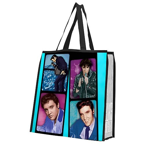 Elvis Presley Reusable Shopping Tote