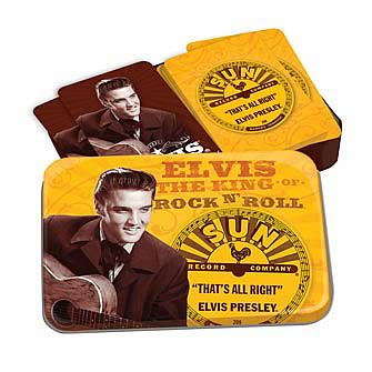 Elvis Sun Records Playing Card Set