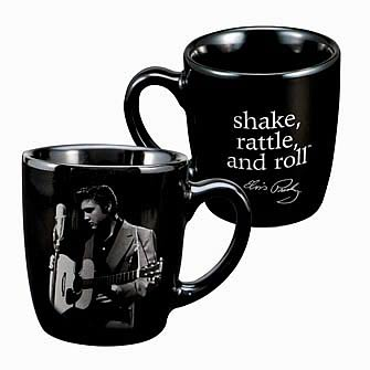 Elvis Presley Shake Rattle and Roll Mini Mug