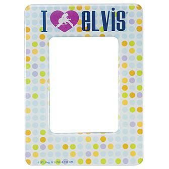 Elvis Presley Mini Magnetic Frame