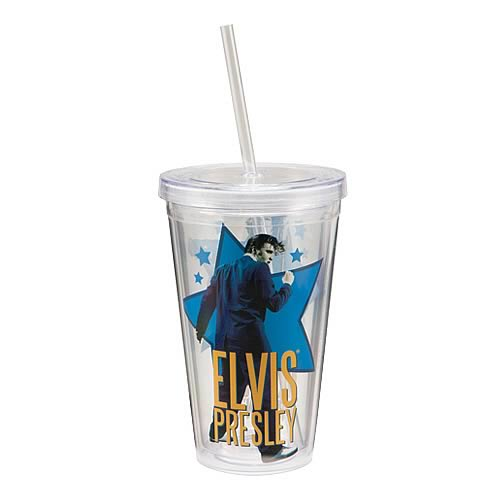 Elvis Presley Acrylic Travel Cup
