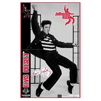 Elvis Presley Life Size Wall Decal