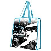 Elvis Presley Left The Building Reusable Shopping Tote