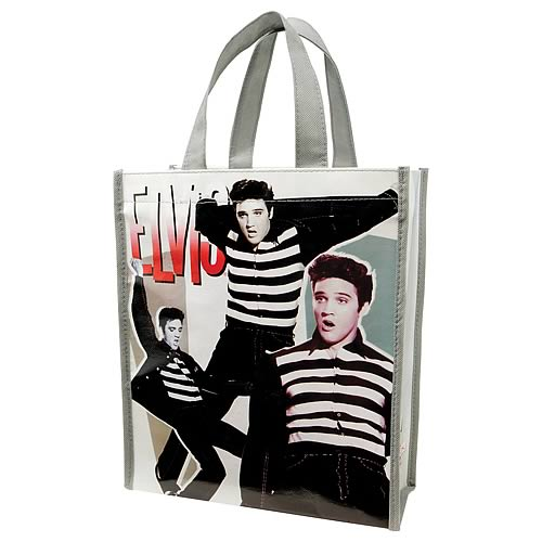 Elvis Presley Jailhouse Rock Small Reusable Shopping Tote