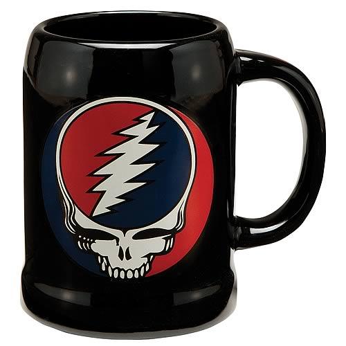 Grateful Dead Ceramic Stein