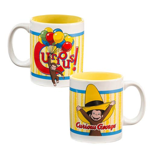 Curious George 12 oz. Ceramic Mug