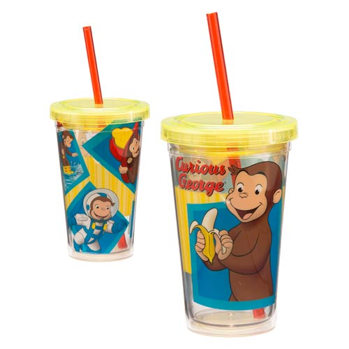 Curious George 12 oz. Acrylic Travel Cup
