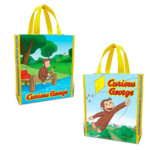 Curious George Small Recycled Shopper Tote